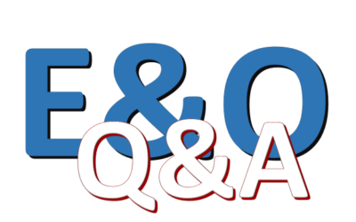 E&O Q&A by Mary LaPorte